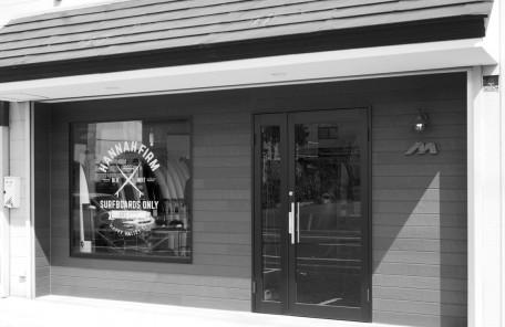 サーフボード専門店