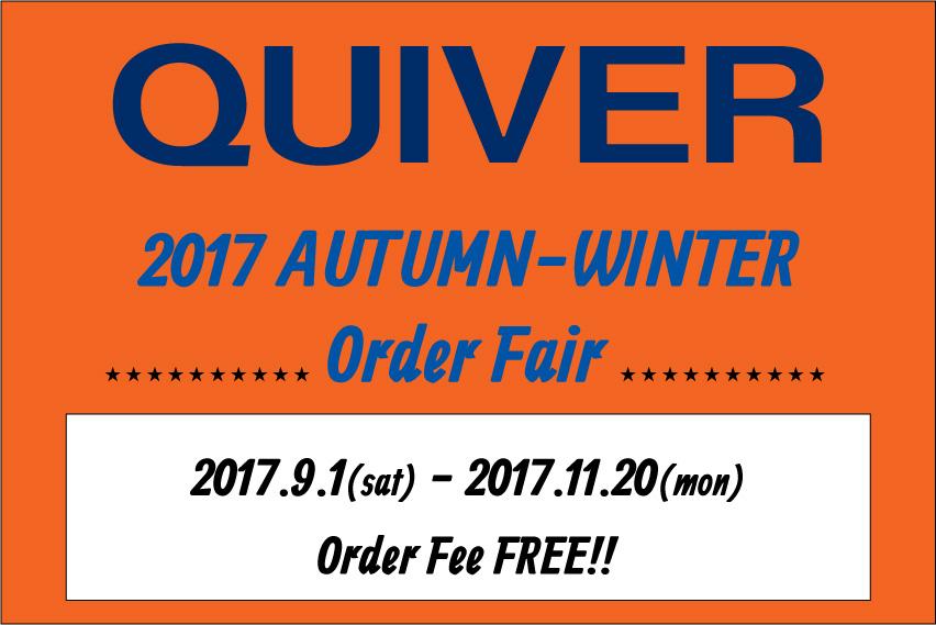QUIVER ウェットスーツ秋冬フェア
