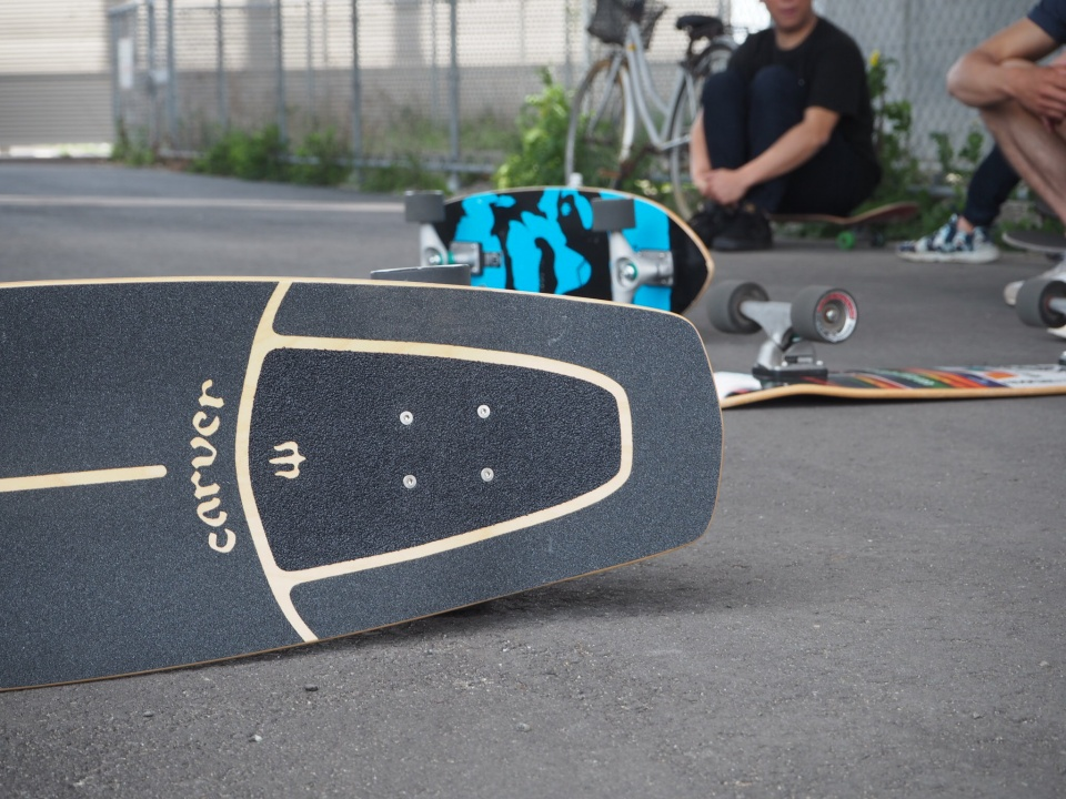 CARVERスケートボード 仙台
