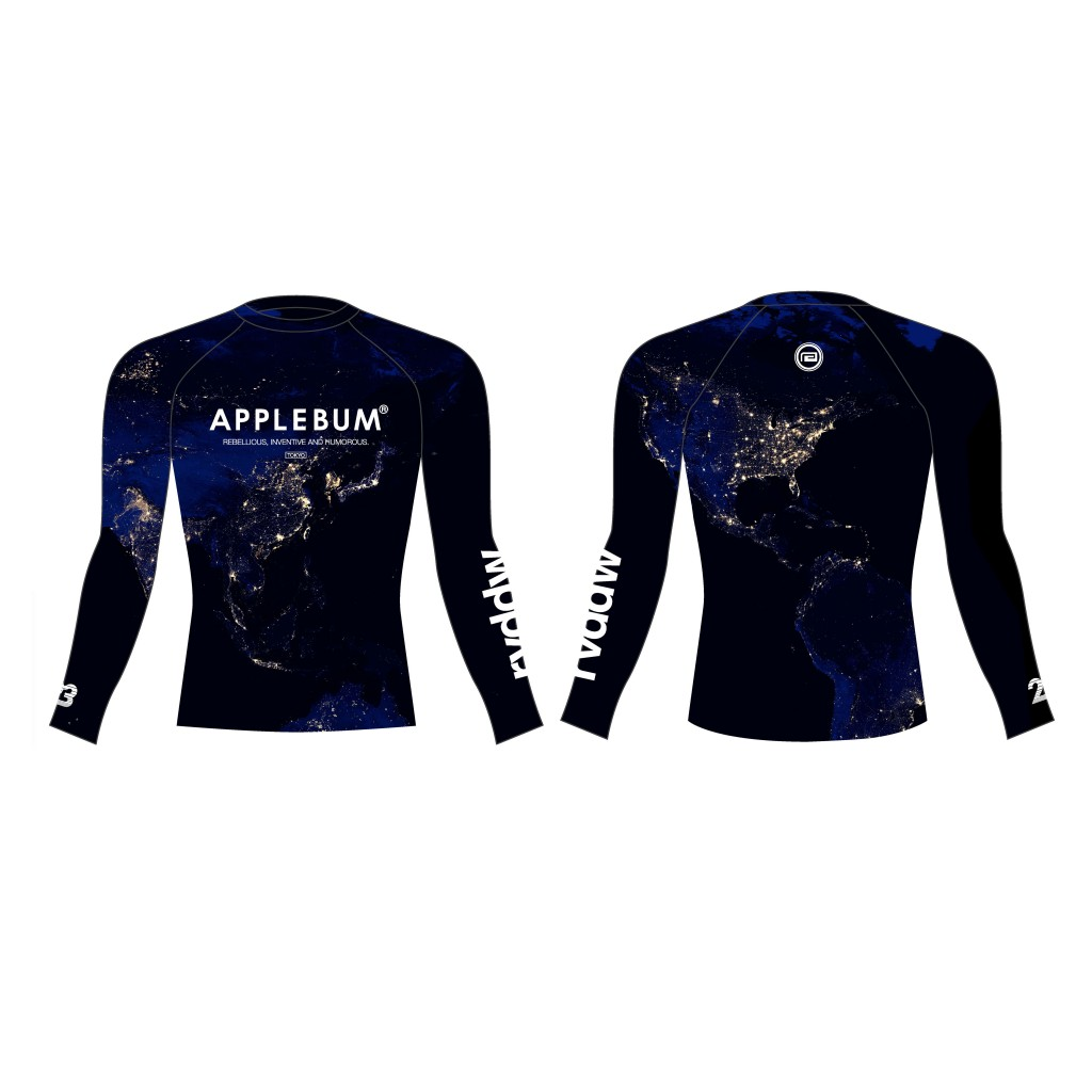 rvddw × APPLEBUM Night Earth RASH GUARD 13,000円