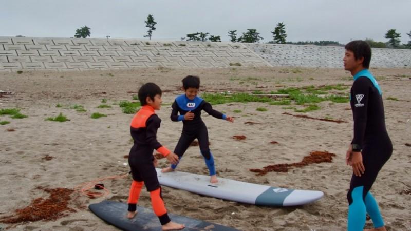 キッズサーフィン体験スクール