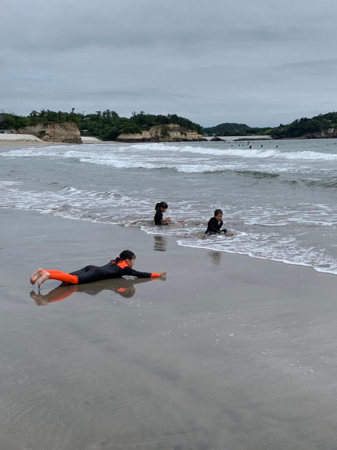 キッズサーフィン体験 仙台